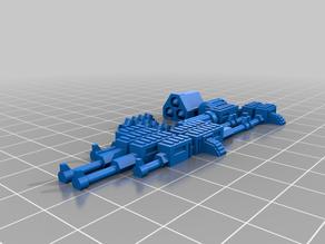 Easy to print basic gaslands guns