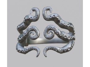 Octopus Bangle / Ring