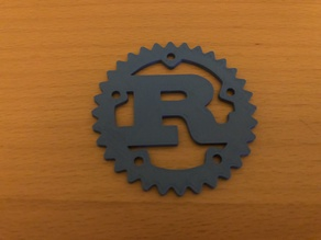 Scaled Down Rust Logo