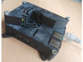 Raspberry Pi 4 with POE HAT case