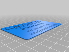 My Customized Business card maker
