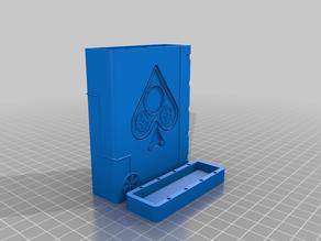 Steampunk inspired Card Box