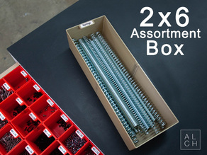 ASSORTMENT SYSTEM BOX 2X6