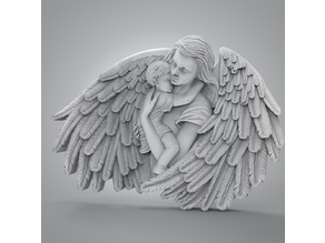 Mother angel for CNC (Or 3dPrint)