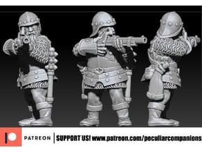 Dwarf Arquebusier - Gunner (fixed)