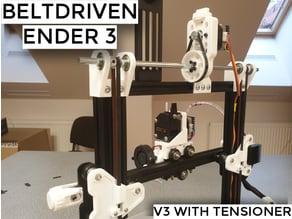 Belt Driven Ender 3/Pro/V2 and CR10