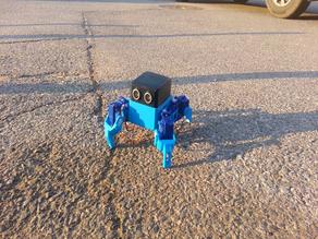 Create a quadruped walking robot(OTTO QUAD)