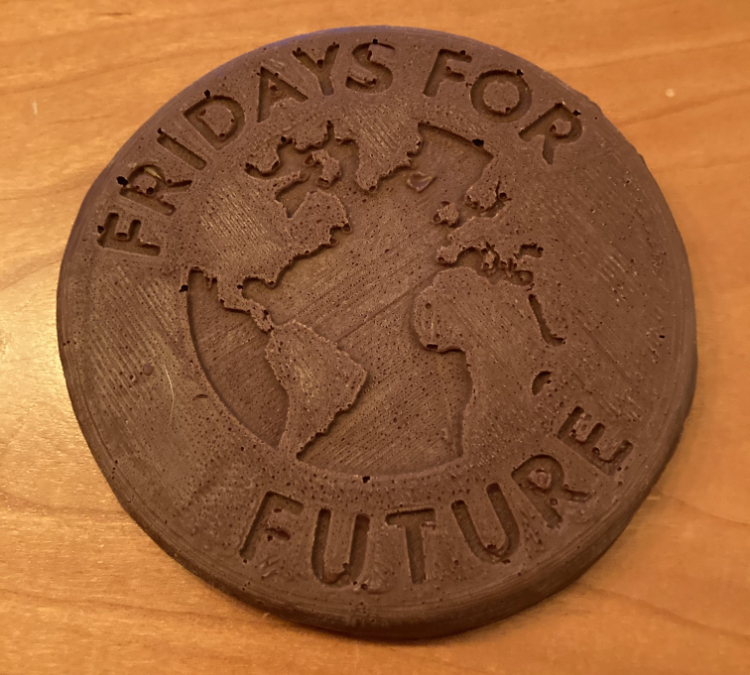Fridays For Future Chocolate Mold