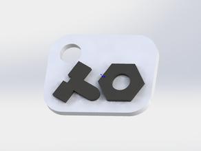 Teenage Engineering Logo Keychain