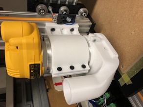 Dewalt 611 router mount for C-beam extrusion