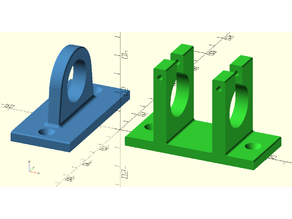 Customizable Roller Bearing Supports