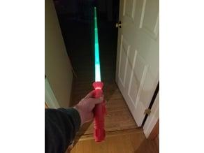 LuxPro Lightsaber Collapsable Flashlight Mod