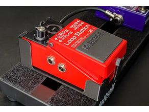 Boss pedal clip in holder