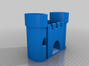 Simple Castle Hide for Small Pets
