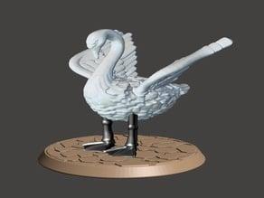 28mm Battle Swan. Halfling Mount