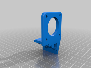 2020 extrusion stepper mounts (Y axis, extruder, x axis)