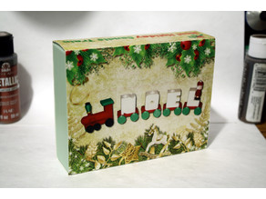 Custom Case for the Noel Holiday Candle Train