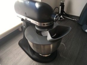 KitchenAid shield with attachable funnel