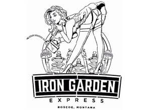 Iron Garden stencil