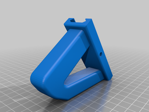 Simple Airsoft Foregrip (pre-Adjustable)