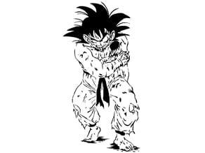 Goku stencil 6