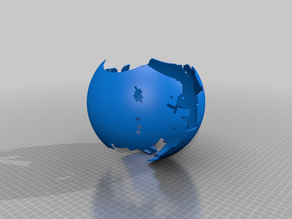 My Customized stereographic projection43