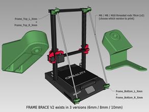 CR10-S Pro Frame Brace (light version)