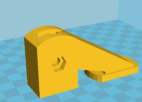 Reinforced support for quick clamp