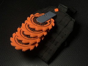 FourStar - Nerf Twinslice Tactical Saw Blade Rack