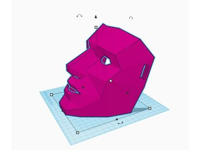 Low Poly Mask v2 fixed straps