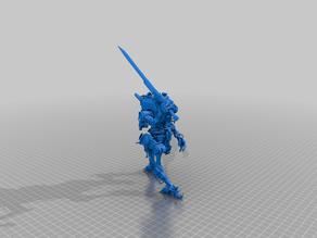Titanfall Ronin Prime Model