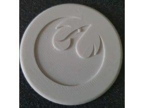 Rebels -PHOENIX- logo Coaster
