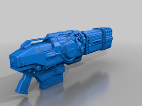 plasma rifle and bfg weapons from de20