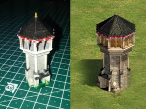 Age of Empires II West European Keep (High Detail)