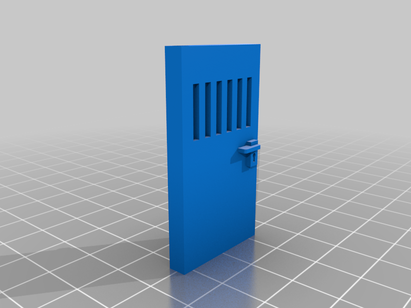 skudfisher's laboratory foamcore door