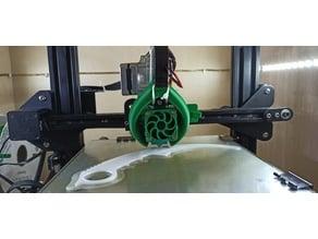Blowing 3D printer ENDER-3 fan 5015