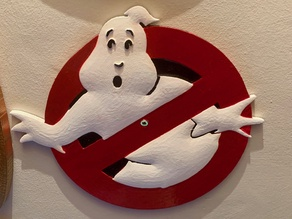 Ghostbusters Plaque / Sign