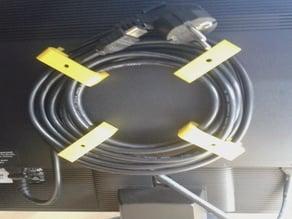 Monitor Cable Holder (M4 for VESA)