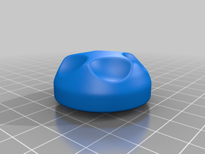 Electribe Extruded selector knob.