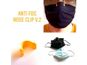 Anti-Fog Nose Clip for Mask