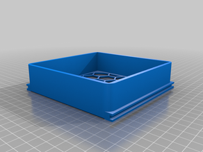 120mm fan filter box with 3mm slots