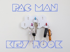 PAC-MAN ghost key holder
