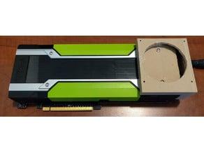 Nvidia Tesla K80 Fan