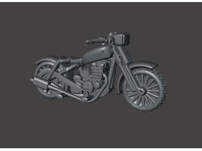 28mm Motorbike for FWW, Dark Future, Gaslands and Other Post Apocalyptic Games