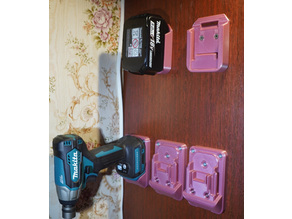 Makita Wall Mounts / Holders for Battery and Tools (18V)