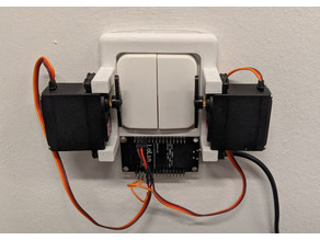 Dual Light Switch Control Frame