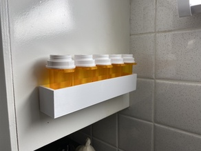 Medicine Tray Shelf - 5 Bottle
