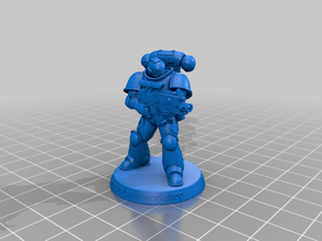 Pose_01 A big request. If you print the model, leave feedback in the comments!
