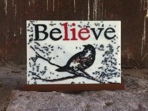 Believe -Silhouette