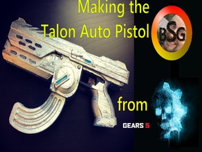 Talon Auto Pistol from Gears of War 5